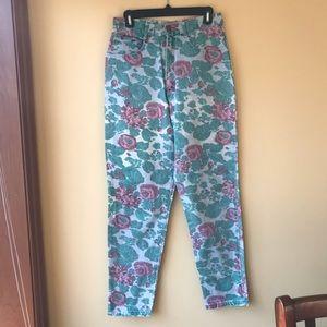 Forenza Vintage rose print jeans